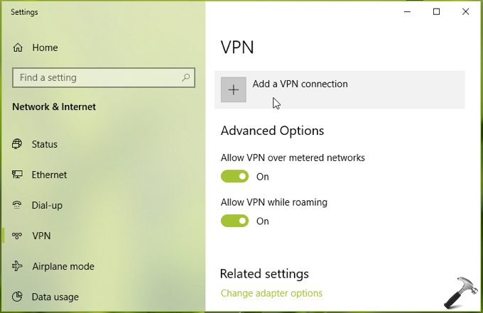 How To Setup VPN Connection In Windows 10