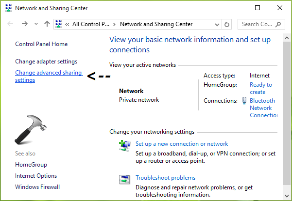 How To Turn Off Password Protected Sharing In Windows 10