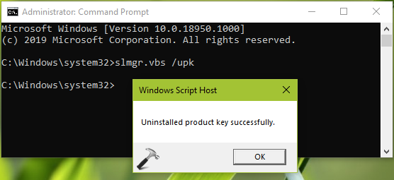 How To Uninstall Product Key In Windows 10
