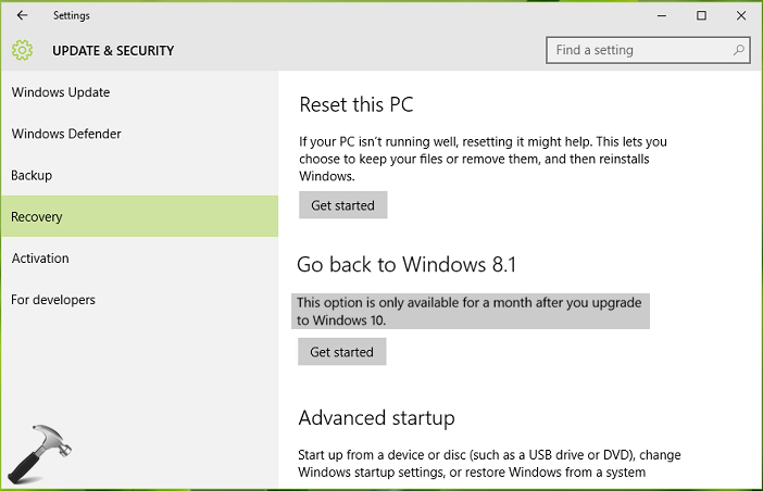 How To Uninstall Windows 10 After A Month Of Upgrade