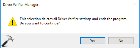 How To Use Driver Verifier In Windows 10