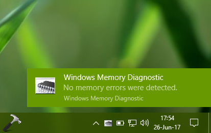 How To Use Windows Memory Diagnostics In Windows 10