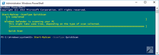 How To] Use Windows PowerShell To Scan Windows 10