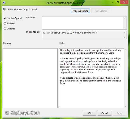 how to allow unsigned drivers windows 10