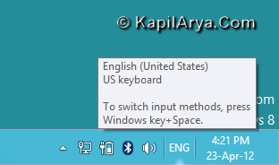 how to add language in windows 8