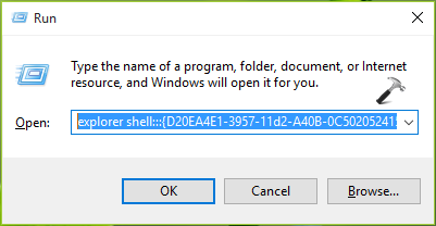 List Of Shell Commands, CLSIDs, Keyboard Shortcuts For Windows 10