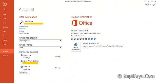 microsoft office 2013 download free trial