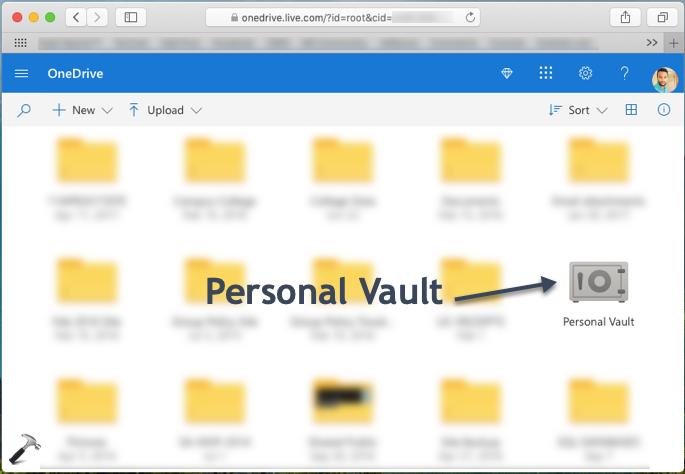 Personal Vault In OneDrive