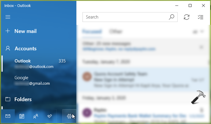 How To Remove Email Account From Mail App In Windows 10