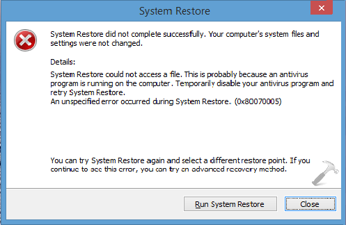 disable automatic repair windows 8