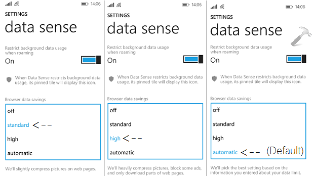TIP Prevent Data Wastage With Data Sense App For Windows Phone 8.1
