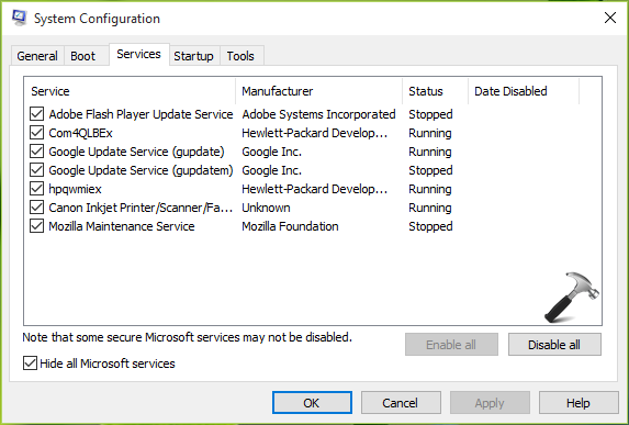 The Group Or Resource Is Not In The Correct State To Perform The Requested Operation For RuntimeBroker In Windows 10