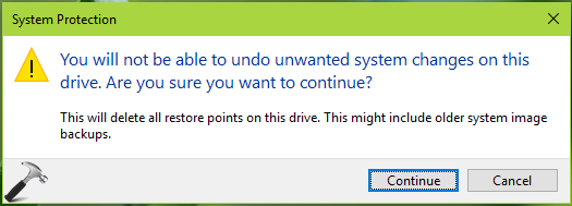 FIX The Specified Object Was Not Found (0x80042308) For System Restore In Windows 10