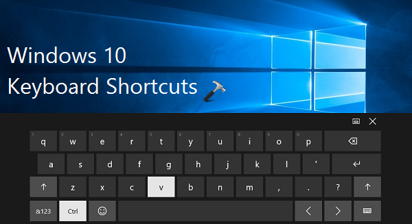 Ultimate Collection Of Keyboard Shortcuts For Windows 10