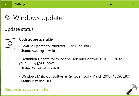 What's New In Windows 10 V1803 (Spring Creators Update)