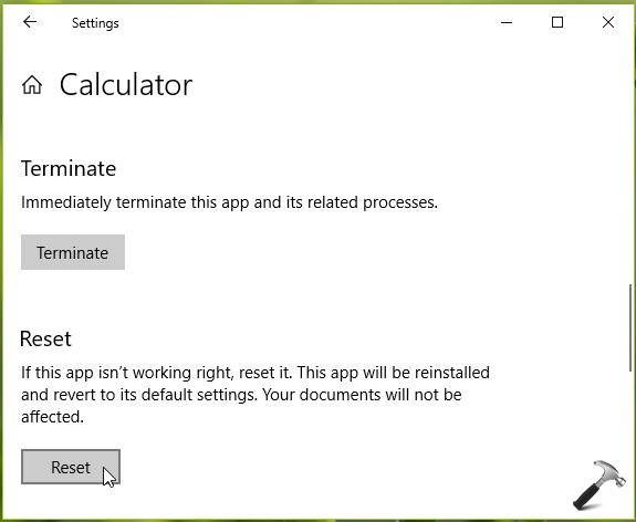 FIX Windows 10 Calculator Not Working After Update
