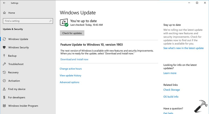 Microsoft Announced Windows 10 May 2019 Update As Next Feature Update