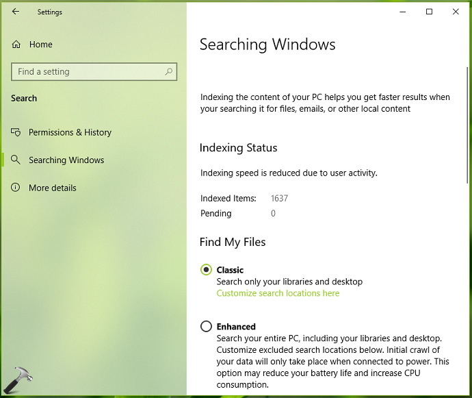 Windows 10 V1903 Separate And Cortana