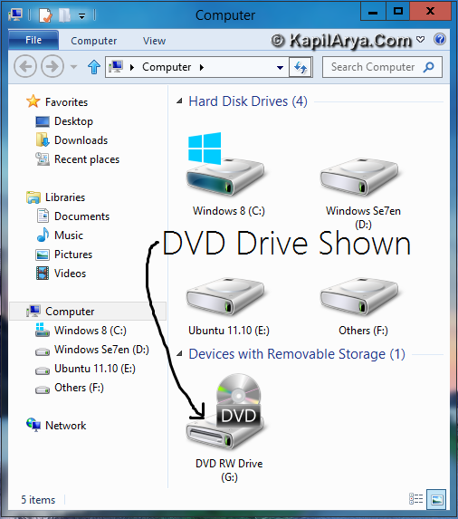 Windows 8 CP DVD Drive Missing 1