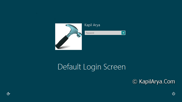 how to change sign in password on windows 8
