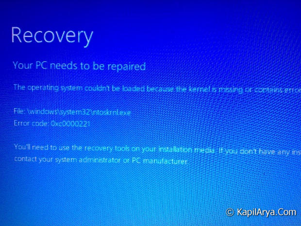 what is ntoskrnl.exe windows 8
