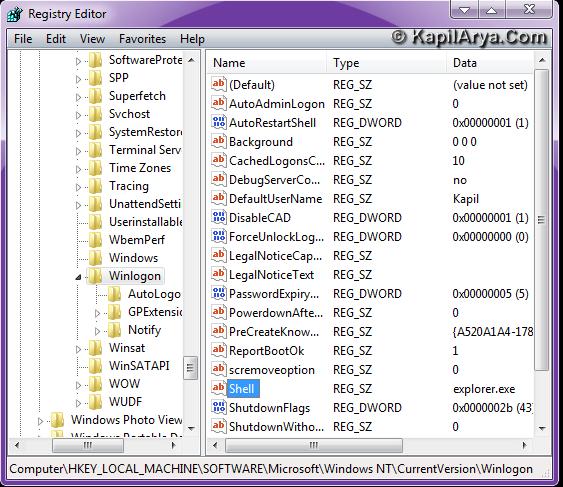 how to fix winlogon.exe error in windows 7